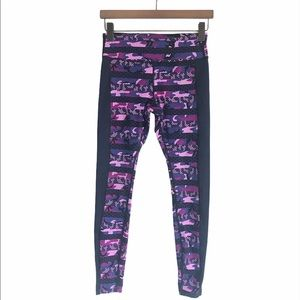 Nike Dri-Fit Purple Camo Running Leggings size M